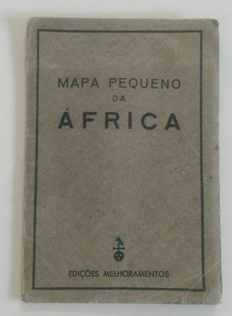 Mapa pequeno da África