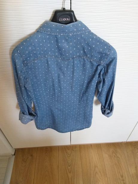 Koszula jeans pull&bear 36 s
