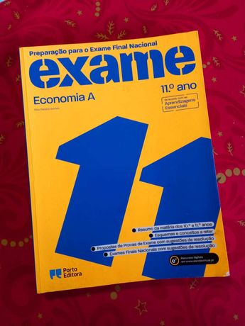 Preparação para o Exame Final Nacional - Economia A - 11º ano