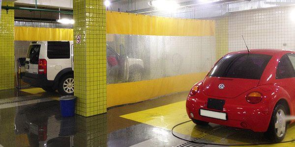 Шторы из ПВХ автомоек, СТО для гаражей, складов, покрасочных, тент