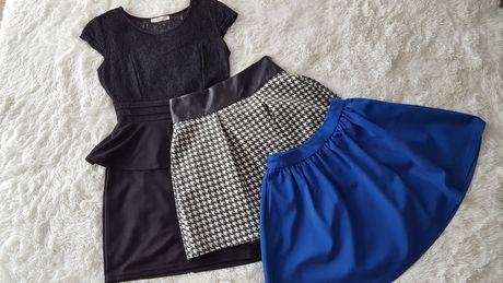Sukienka oraz spódniczki rozmiar S