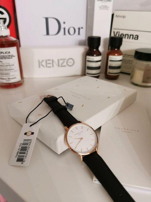 Zestaw prezentowy Zegarek ze skórzanym paskiem, dodatkowo 2 niebieski Mieszkowice - image 1