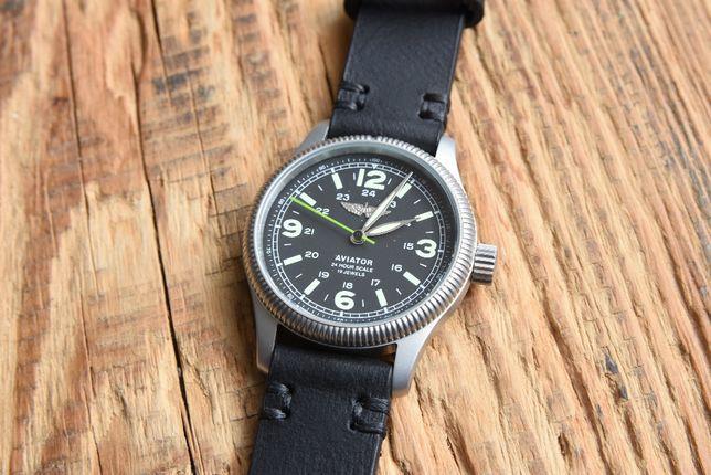 Zegarek radziecki AVIATOR raketa - idealny - nowy !