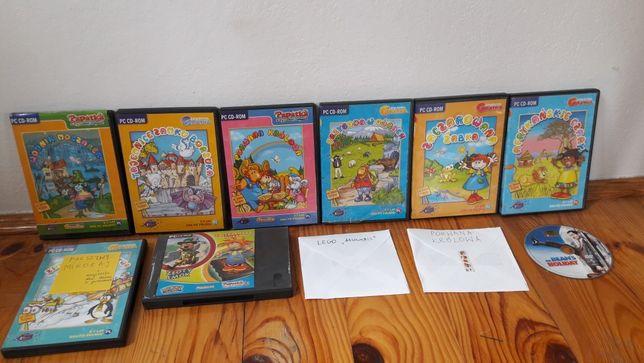 11 płyt CD z bajkami dla dzieci