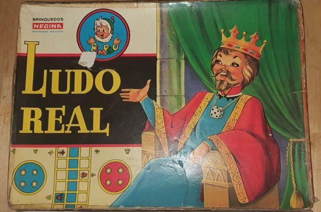 Ludo real jogo mesa raro nedina brinquedo antigo e raro