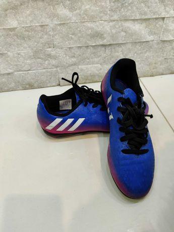 Buty, korki Adidas, mało używane rozm. 34, seria Messi, koszulka Nike