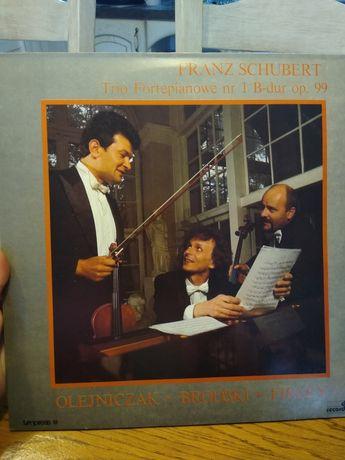 Schubert trio fortepianowe b dur op 99 winyl Olejniczak Brodski firley