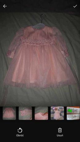 Sukienka rózowa 86