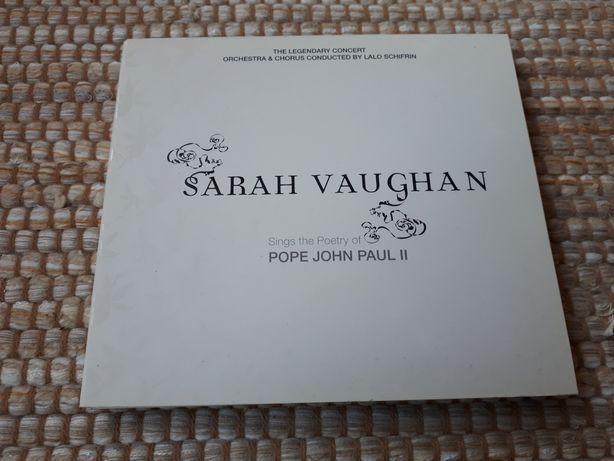 Sara Vaughan canta a poesia do Papa João Paulo II