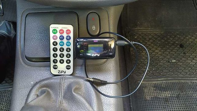 Transmissor FM Zipy Monza - Leitor MP3 para carro