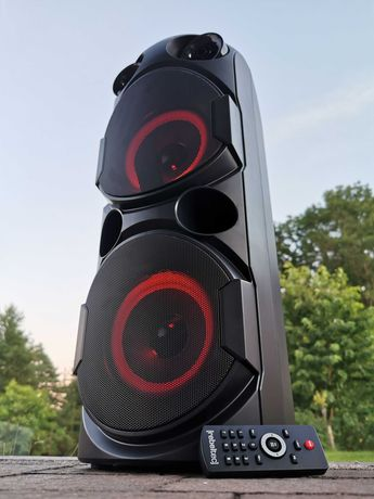 Kolumna Nagłośnieniowa Wieża Subwoofer Głośnik BLUETOOTH RADIO Karaoke