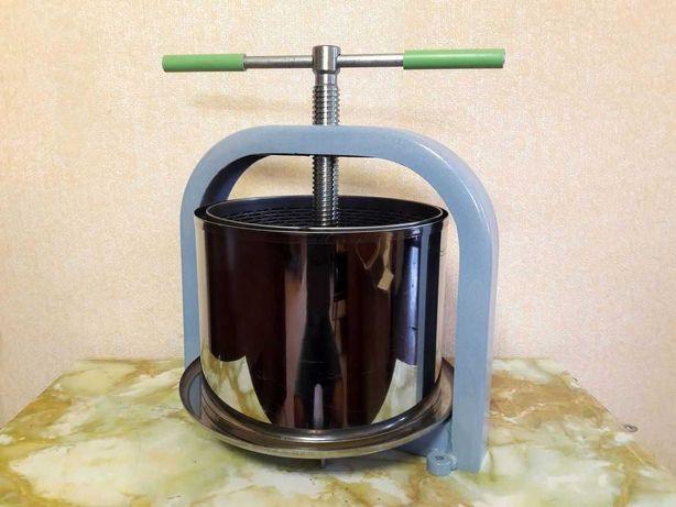 Пресс Соковыжималка винтовой для винограда сока вина яблок