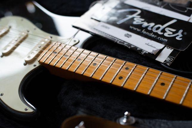 Fender American Deluxe v-neck 2009 г