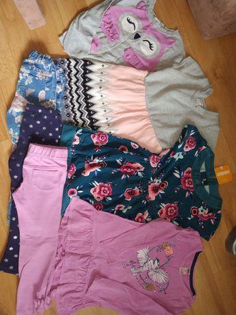 Фирменная одежда пакетом девочке на 4года