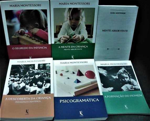 Maria Montessori - Pack de  livros!