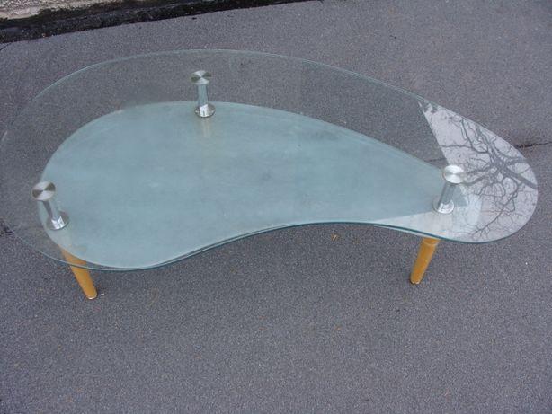 stolik ława szklana dł 120 wys 46 szer 60 cm