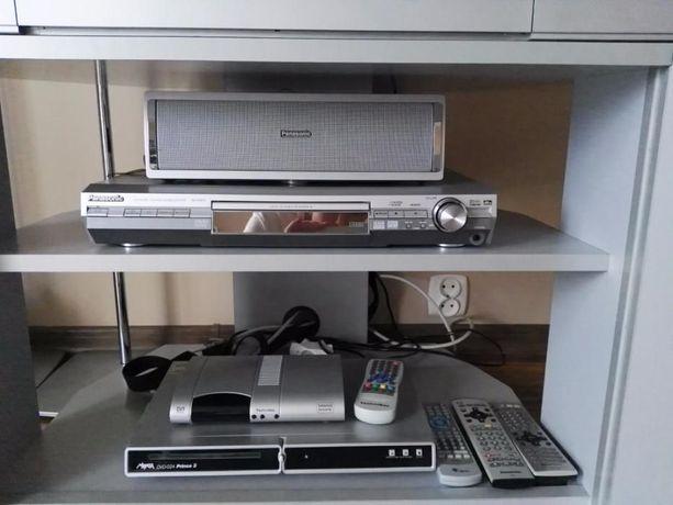 Super zestaw kino domowe telewizor wszystko Panasonic 32' srebrny ślic