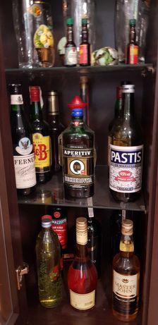 Różne rodzaje alkoholi