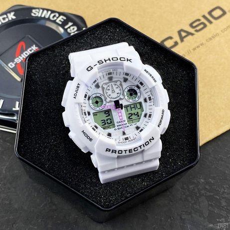 Стильные Casio G-Shock GA-100 (6 цветов) Наручные мужские-женские часы