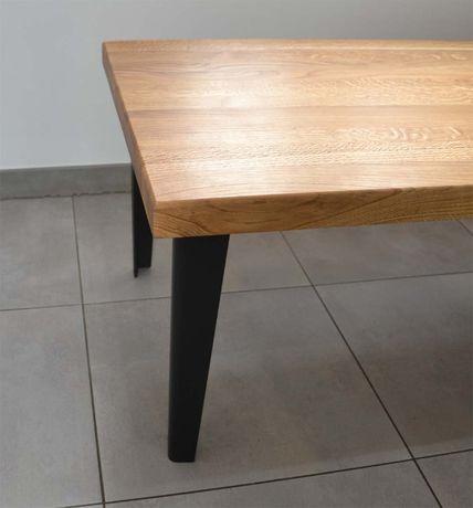 Nogi metalowe do stolika cięte laserowo, gięte, INDUSTRIAL LOFT nowosc