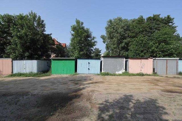 Garaż blaszany - Gdańsk Nowy Port - ul. Wyzwolenia