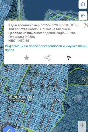 Продам участок Киевская обл   пос. Пороскотень