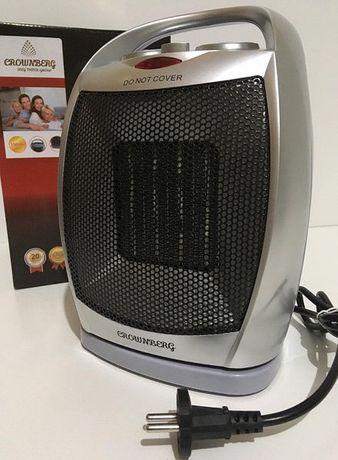 Новый Керамический тепловентилятор Crownberg CB-7749 1500W