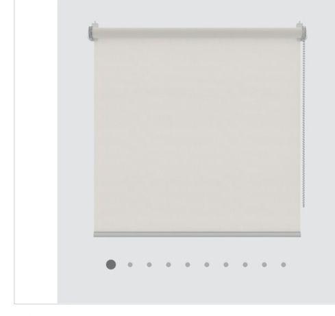 Estore de rolo Branco opaco 0.90x2.50