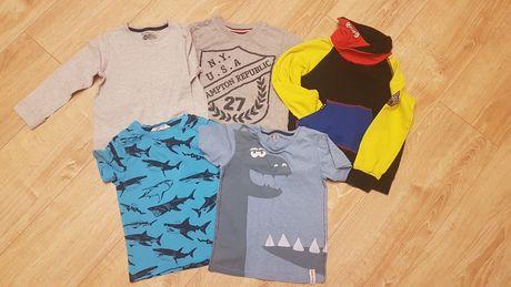Zestaw bluzy i t-shirt 110/116
