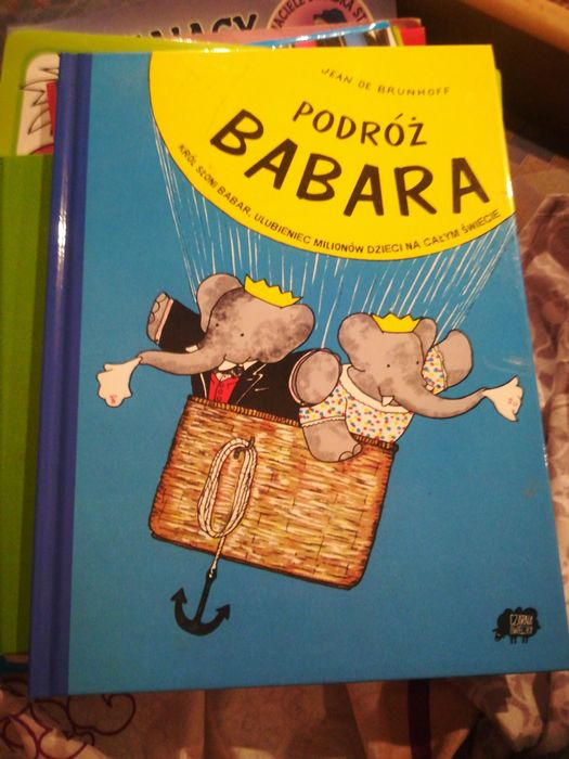Podróż Babara, książka dla dzieci