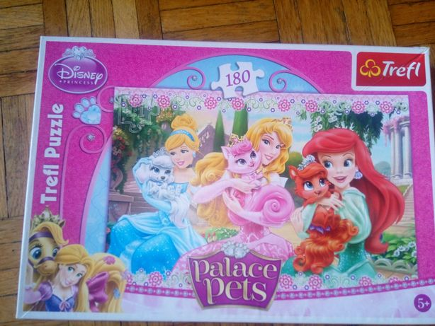 Puzzle trefl 180 księżniczki Disneya że zwierzętami