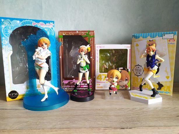 Figurki Love Live Hoshizora Rin Anime Manga Idolki Nendoroid