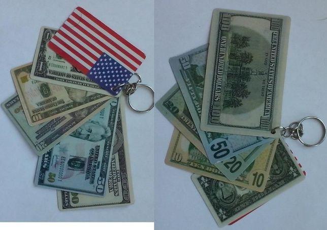 """Брелок """"Валюта США"""""""