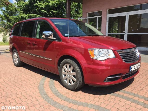 Chrysler Town & Country 3,6i, 283KM , Limited, dvd, skóra, kamera, gwarancja przebiegu