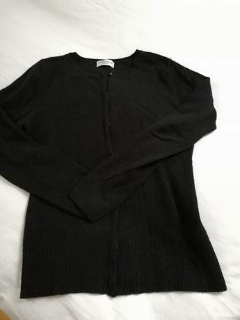 Czarny sweterek Deni Cler