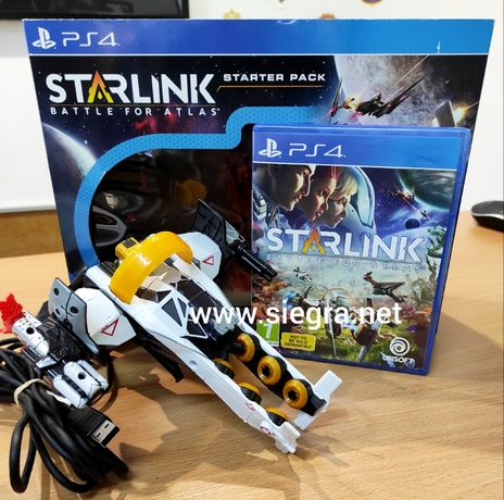 Starlink Battle for Atlas Ps4 plus statek