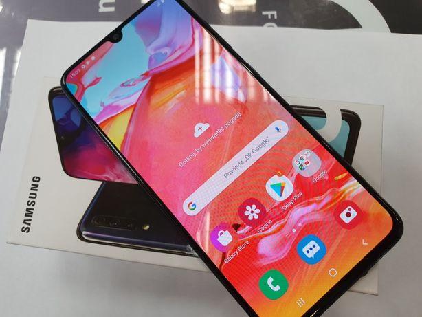 Samsung Galaxy A70 Dual SIM LTE/ Black/ 100% sprawny/ Gwarancja/ sklep