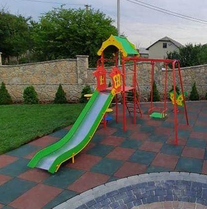 Детская площадка горка качеля Дитячий майданчик гірка гойдалка