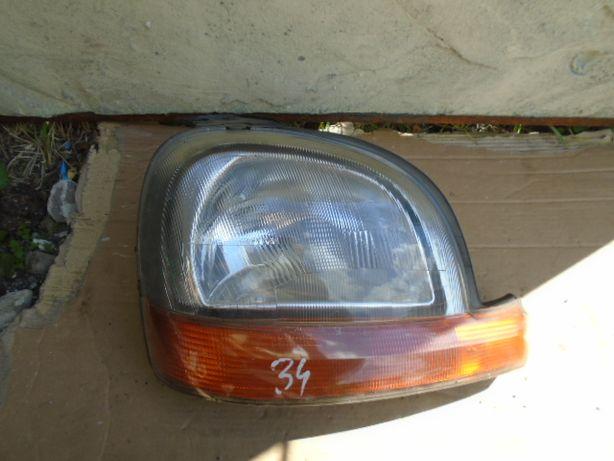 Renault Kangoo I Lampa Przednia Prawa