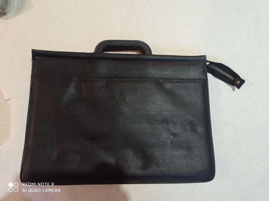 Мужская сумка чёрная Днепр - изображение 1