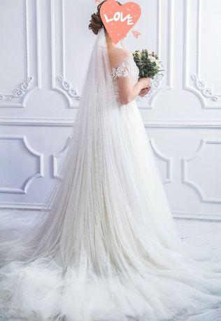 Свадебное платье весільна сукня Naviblue Bridal, р.44