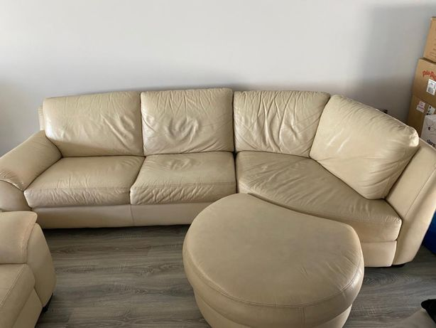 Sofá com chaise longue - Chateaux D'ax