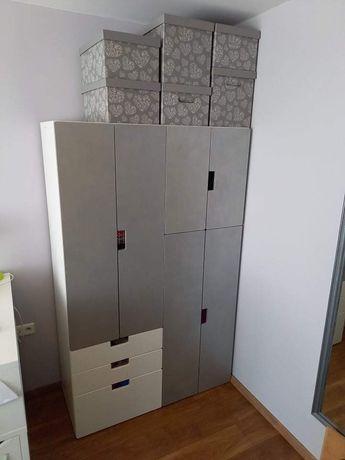 Szafa IKEA z drzwiami w kolorze patyny