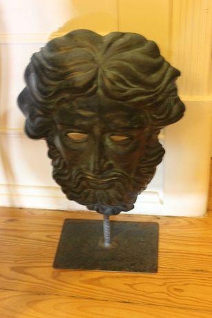 Escultura - Máscara Clássica com suporte