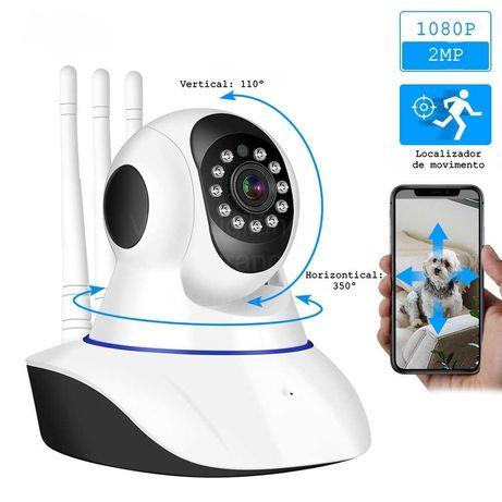 Câmera Rotativa Interior*WiFi*FullHD* Visão noturna