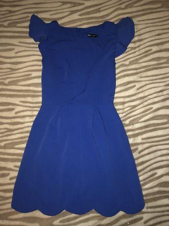 Красивое синее платье MustHave