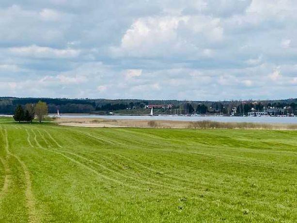 Działka budowlana, plaża,szlak WJM, jezioro Ryńskie, m. Rybical