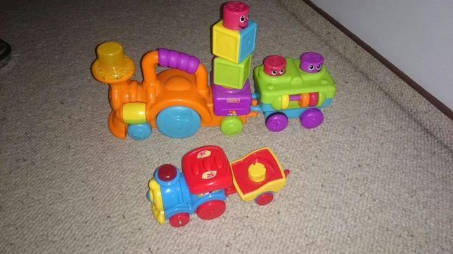 Zabawki, pociąg, Fisher Price