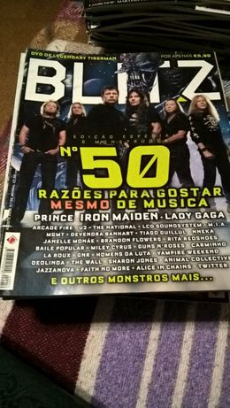 Revista Blitz - Prince, Iron Maiden, Lady Gaga (portes incluídos)