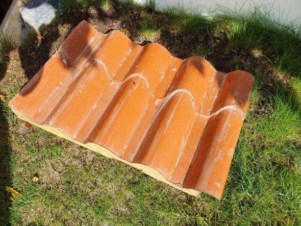 cobertura de telhado, tipo sandwich, imitando telha.